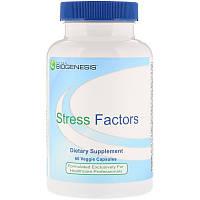 Nutra BioGenesis, Stress Factors, 60 Veggie Caps