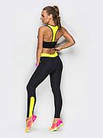 Женский спортивный комплект для йоги, фитнеса, тренажерного зала