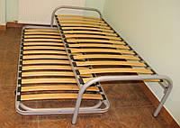 Кровать двойная на ламелях раскладная Canguro