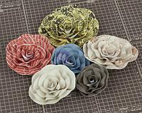 Бумажные цветы Prima - Allstar - Flower Embellishments - Five , 570842