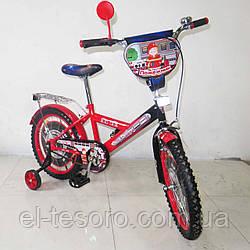 """Велосипед TILLY детский 18"""" Пожежник (red + black)"""