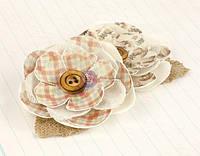 Цветы из ткани Prima - Delight - Flower Embellishments - Canvas Flowers , 570934