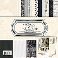 Набор бумаги для скрапбукинга Wedding Mini Kit , 30х30 , 1611