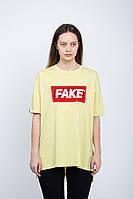 Модная женская футболка FAKE LIME T Urban Planet (футболки, жіноча футболка, одежда женская, одяг, футболочка)
