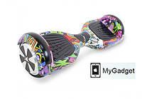 """Гироскутер / Гироборд Smart Balance Elite Lux 6,5"""" Новый Граффити + Сумка в подарок!, фото 1"""
