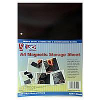 Магнитный лист для хранения ножей A4 Magnetic Storage Sheet