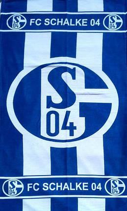 Полотенце пляжное FC SCHALKE 04, фото 2