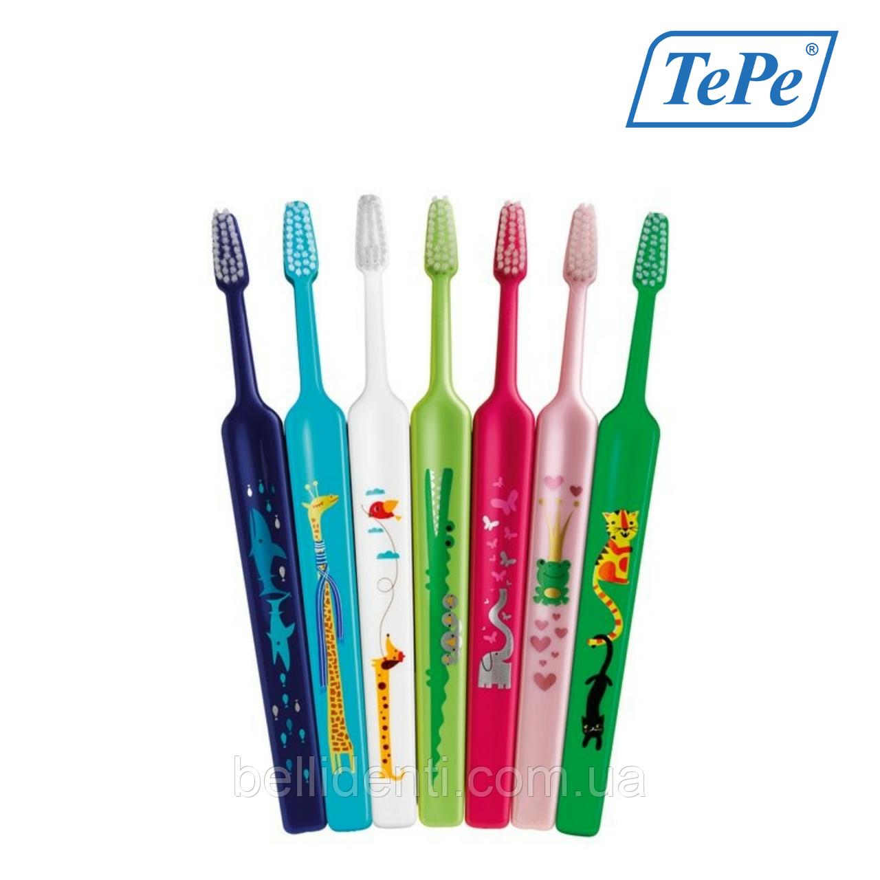 Детская зубная щетка TePe Kids Soft (от 3-х лет)