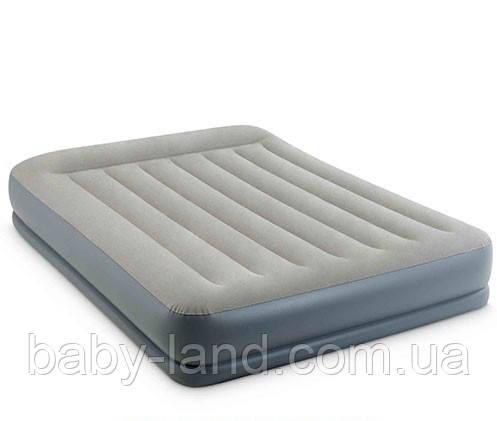 Надувной матрас cо встроенным насосом Intex 64118