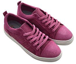 Текстильные кеды 81ROSE 37 24,5 см Розовый