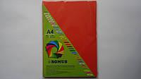 """Бумага Цветная офисная А4 """"Кораловая"""" Romus ,80г/м,Словакия для принтера,ксерокса.Ксероксная бумага Цветная дв"""