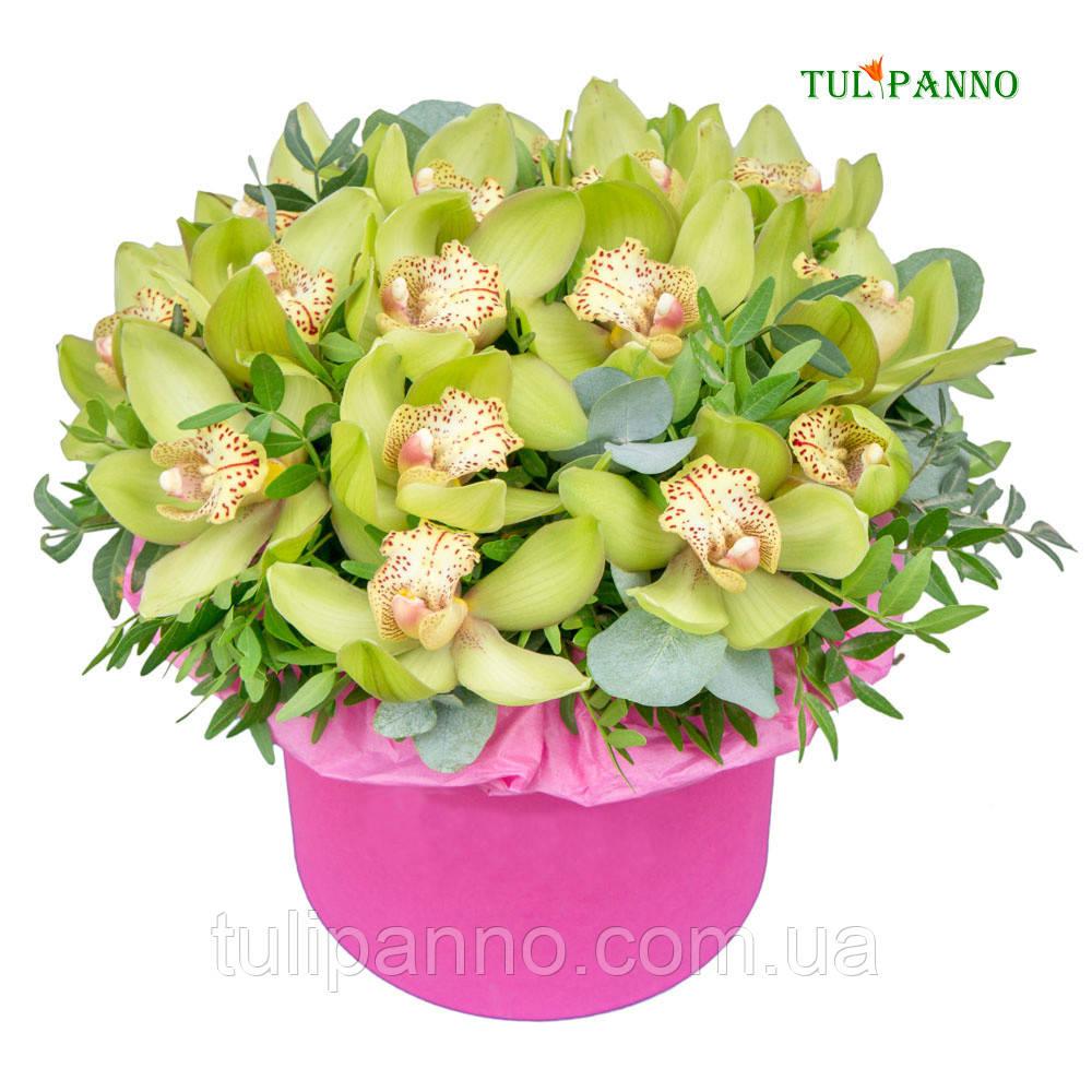 """Поздравительный букет """"Орхидея"""""""