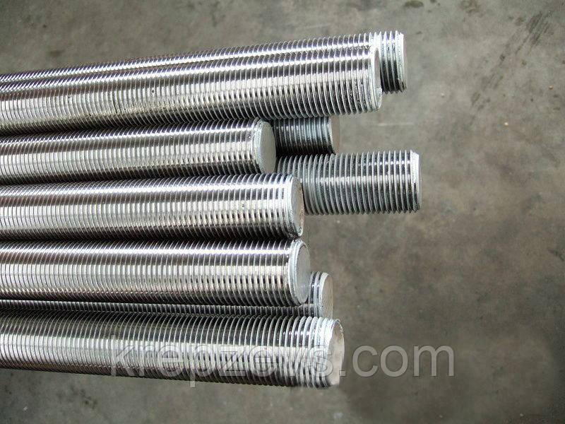 Шпилька резьбовая М10х1000 DIN 975 класс прочности 5.8