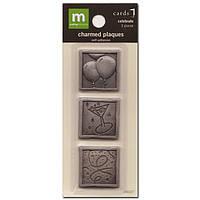 Металлические украшения Making Memories - Celebrate Charmed Plaques , MM24037