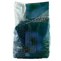 ItalWax Гарячий віск для депіляції в гранулах Азулен, 1кг.