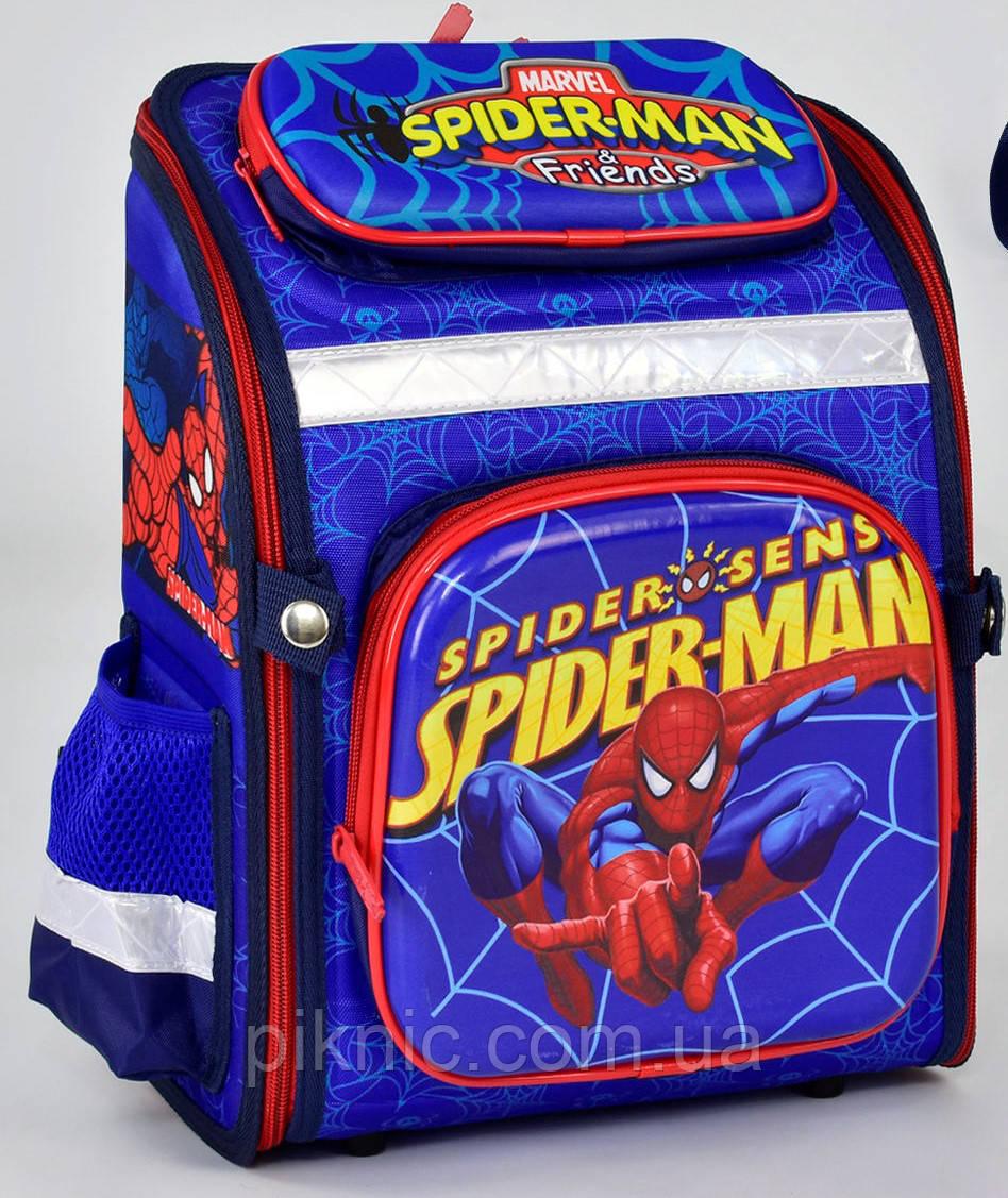 47741af57918 Рюкзак, портфель школа. Ранец школьный каркасный ортопедический + Пенал  Человек Паук 1, 2 класс. Для мальчиков.