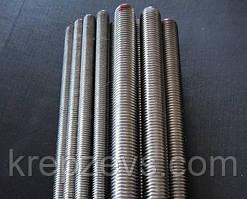 Шпилька М22х1000 різьбова DIN 975 клас міцності 5.8