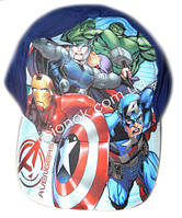 Кепка Disney (Оригинал) Супер-герои Marvel, мстители, Avengers, 52-54см 52см, Темно-синий
