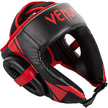 Шлем для бокса Venum Challenger Open Face Headgear Black/Red, фото 2