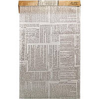 Калька от Tim Holtz - idea - ology - Tissue Wrap - Terminology , рулон , TH92960