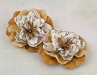 Бумажные цветы Prima - Valentine - Tan, 571009