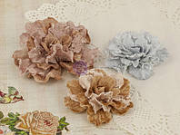 Цветы из ткани Prima - Scarlett - Vintage Brown , 571405
