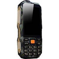 Противоударный водостойкий телефон Land Rover D2016 DBEIF 13800 mah 2 Sim Shockproof