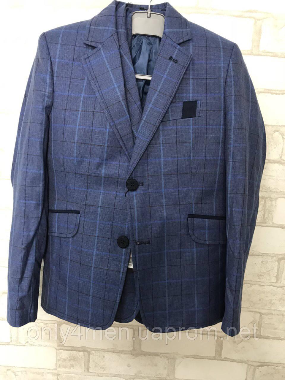 Пиджак для мальчика 6-9 лет