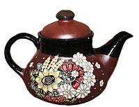 """Заварочный чайник керамический """"Букет"""" 1л"""