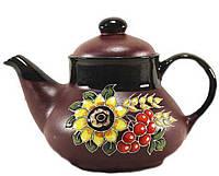 """Заварочный чайник керамический """"Калина""""1л"""