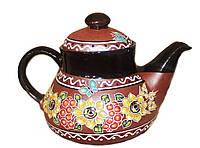 """Заварочный чайник керамический """"Декор Калина"""" 1л"""