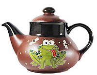 """Заварочный чайник керамический """"Лягушка"""" 1л"""