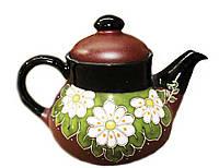 """Заварочный чайник керамический """"Ромашки"""" 1л"""