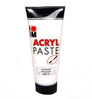 Структурная паста мелкозернистая Marabu Acryl Paste , 100мл