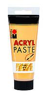 Структурная паста Marabu Acryl Paste - Gold , 100мл