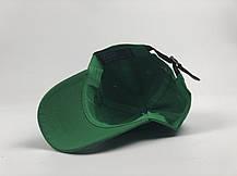 Кепка бейсболка Polo Ralph Lauren зеленая, темно-синий лого, фото 3