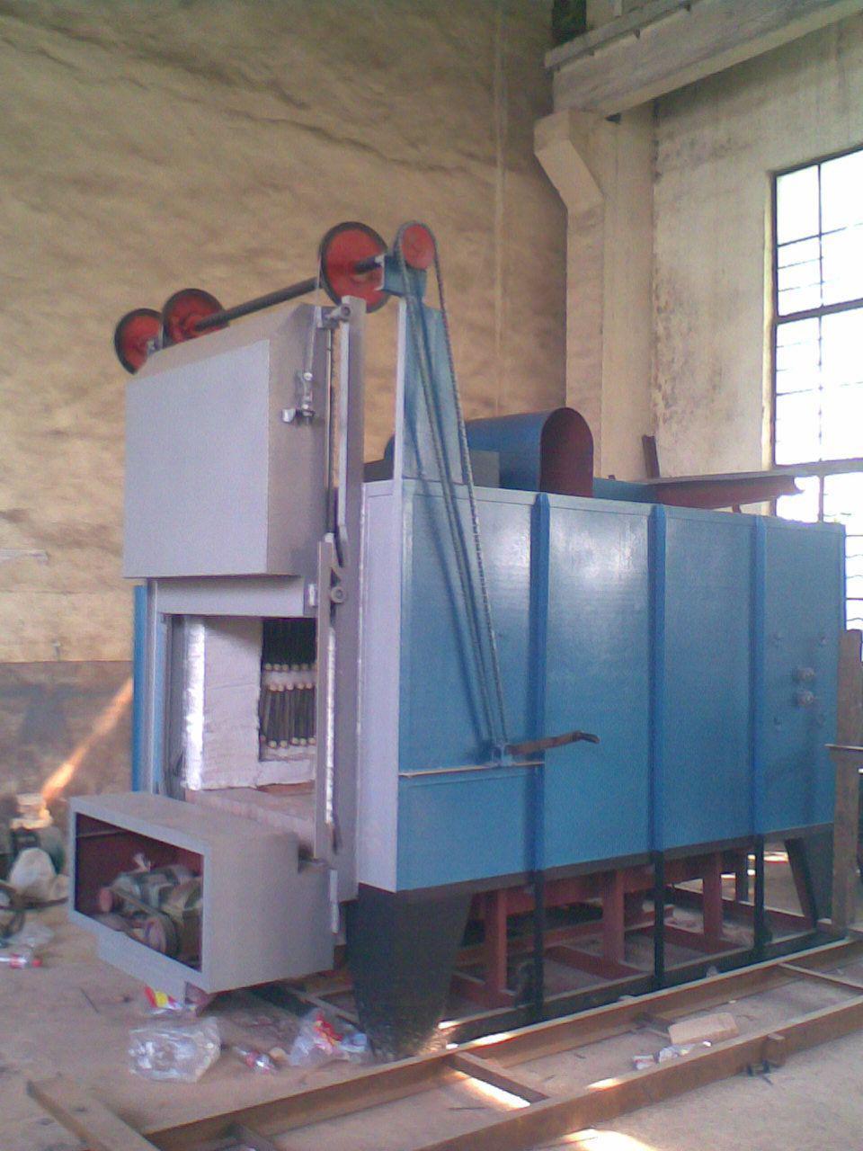Оборудование для обжигания керамических форм