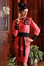 Сукня жіноча, плаття повсякденне, плаття трикотажне, плаття червоне