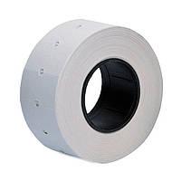 Этикет лента белая 21,5х12мм  1000 шт в рулоне (7 рулонов в упаковке)