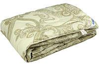 Одеяло летнее овечья шерсть сатин жаккард 172х205 Руно - Luxury