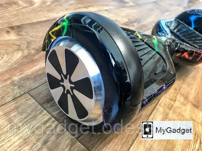 """Гироскутер / Гироборд Smart Balance EL2 6,5"""" Цветная Молния + Сумка + Монопод"""