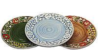 """Набор керамических тарелок """"Трио"""""""