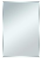Зеркало влагостойкое для ванных комнат 40 х 50 см еврокромка