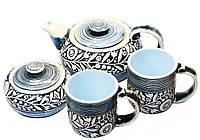 """Набор чайный керамический """"Голубое наслаждение"""""""