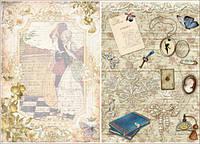 Декупажные карты Cheap-Art - Любовное письмо, 30,8 х44см