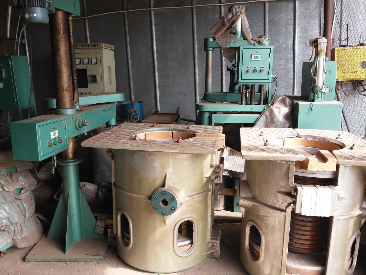 Виброустановка для отделения керамики