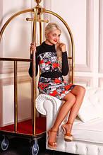 Сукня жіноча кольорова, плаття трикотажне, плаття молодіжне, плаття гарне
