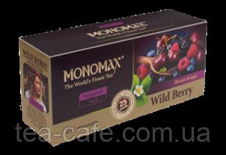 "Чорний чай "" Мономах «Wild Berry», 25 пак."