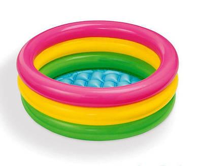Детский надувной бассейн Радуга Intex 58924