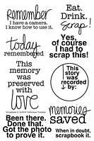 Штампы Scrapbook It